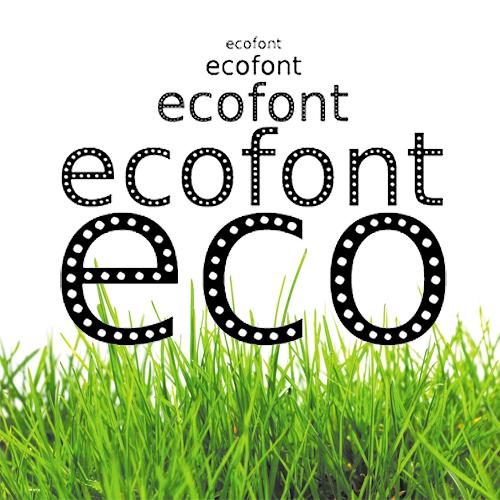 Экофонт - шрифт для экономии картриджа