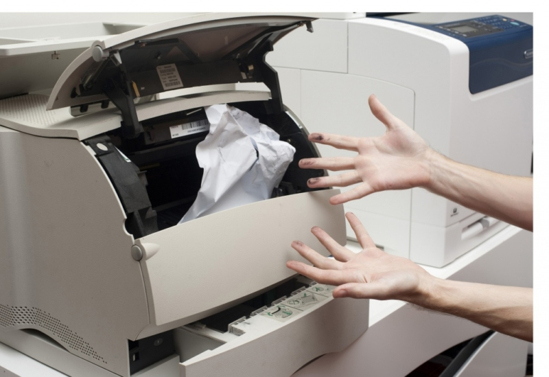 лазерный принтер замятие бумаги